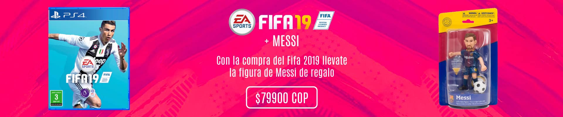 Promo Fifa 19 en Xtreme Play Colombia